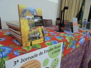Lançamento de Livros na 3ª Jornada de Estudos Rurais e Saúde